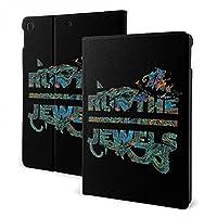 Run The Jewels (4) Ipad 7th 10.2 Inch ケース スマートカバー 耐衝撃 ソフト フレーム脱着式 手帳型 オートスリープ機能 多角度調整 対応 IPad Ipad Air 3 Pro 10.5 インチ スタンド機能付き (A2197 / A2200 / A2198 / A2199)