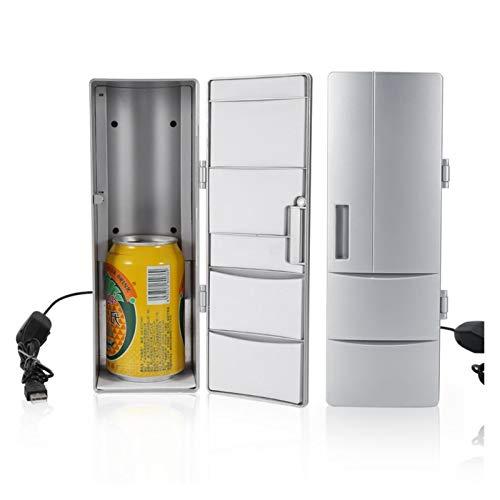 JCCOZ-URG Hogar Smart PC Frigorífico Refrigerador PC Refrigerador Beber Calentador Enfriador Bebida Cocina Congelador Bebida Food Cooler URG