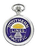 Southern Pacific Ferrocarril Reloj Bolsillo Hunter Completo