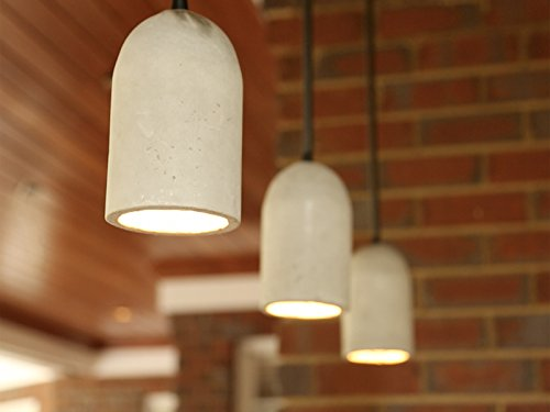Concrete Pendant Lights