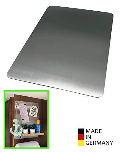 STYYL Edelstahl Magnettafel - super flach - ideal für Van, Camper, Wohnmobil und Wohnwagen UVM. (30cm x 40cm)