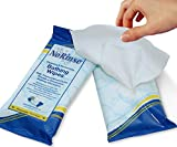 No-Rinse Bathing Wipes by Cleanlife Products (12 Pack), Premoistened and Aloe Vera Enriched for Maximum Cleansing and Deodorizing - Microwaveable, Hypoallergenic and Latex-Free (8 Wipes)