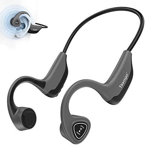 Vatertagsgeschenke, Knochenleitungskopfhörer, Bluetooth 5.0 Wireless Bone Conduction kopfhörerfür Laufen, Radfahren, Laufen