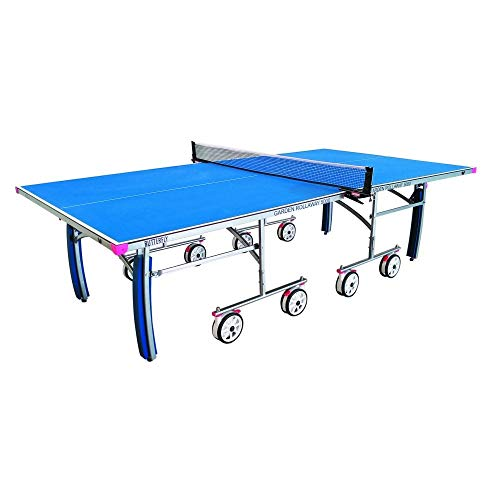 Butterfly Garden Rollaway 5000 Outdoor Pong Pong Table | Quality Outdoor Table Tennis Table | 15 Minute Assembly | Great for a Garden, Patio, or Deck | Playback Position | Fun for The Whole Family