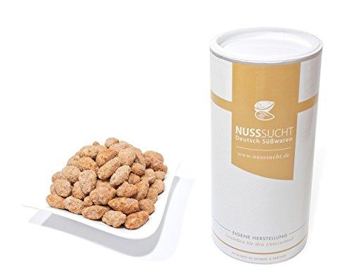 Gebrannte Mandeln mit Limetten Geschmack | Inhalt: 500g | ohne Zusatz- und Konservierungsstoffe | mit wenig Zucker
