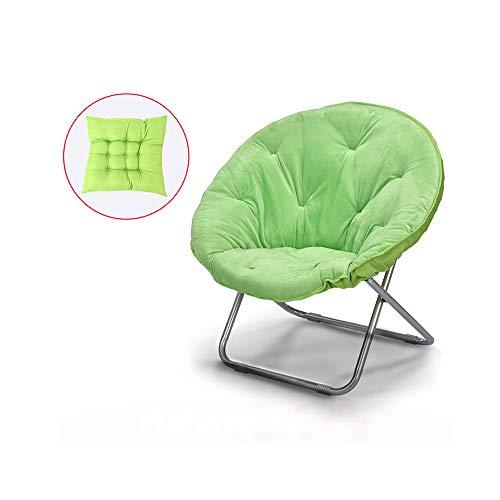 YQQ Chaise De Pause Déjeuner Chaise Pliante Coussin Chaise Longue Acier Confortable 50 * 82CM