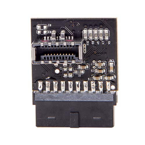CY USB 3.1 Front Panel Socket to USB 3.0 20Pin Header Male Extension Adapter for Motherboard