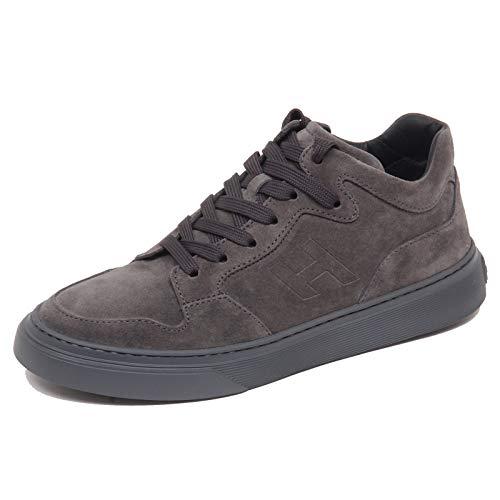 Hogan F8082 Sneaker Uomo Grey H365 Grey Sole Scarpe Shoe Man [5]