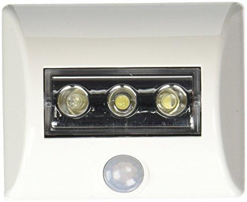 Linear Motion Sensor LED Light Bulb in White