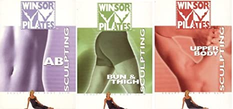 Winsor Pilates 3 DVD Total Body Set (Ab Sculpting, Bun & Thigh Sculpting, Upper Body Sculpting) [Reshape Your Body From Head to Toe]