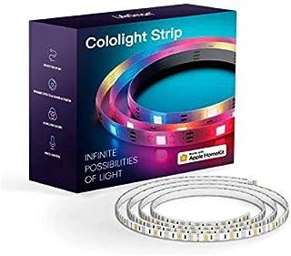مصابيح LED LED من لايف سمارت كولولايت - 16 متر، تغيير لون LED، تحكم ذكي في التطبيق، سهل التركيب، متوافق مع ألكسكا، هوم كيت...
