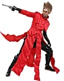 Cosplay.fm Men's VASH The Stampede Cosplay Costume Red Trench Coat (Small)