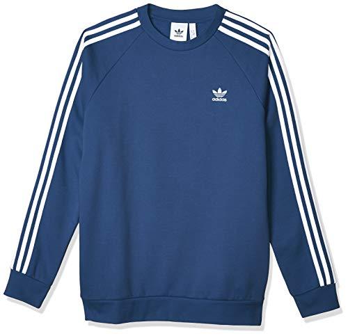 adidas Herren 3-Streifen Sweatshirt, Night Marine, XL