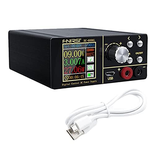 harayaa LCD DC6006L 6A programable CNC DC fuente de alimentación reductora ajustable convertidor Buck voltímetros corriente constante - Estándar