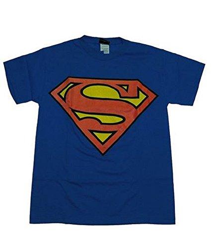 Superman-Classic Logo T-Shirt Size XL