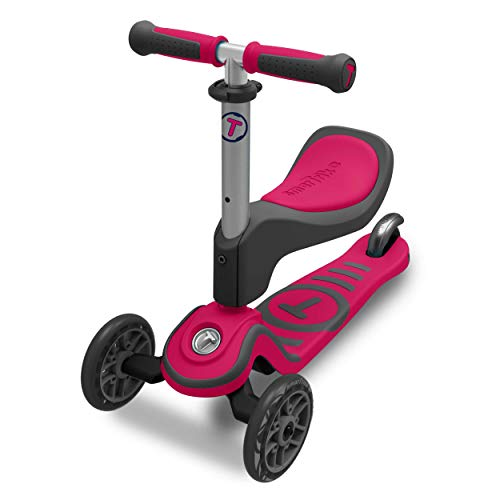 Scooter by smarTrike 202–0200–Bambini Scooter, Rosa