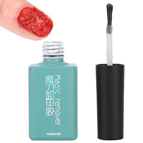 Nagellakverwijderingslijm, gemaakt van transparante vloeistof Verwijder nagellak Verminder gel nagellak Remover
