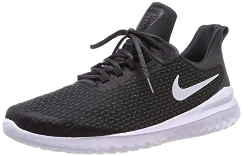 NIKE Womens WMNS Renew Rival Black White Anthracite Size 8