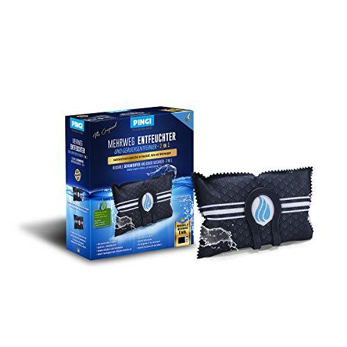 Pingi Deumidificatore 350 g per auto, indicatore riutilizzabile in gel di silice deumidificatore