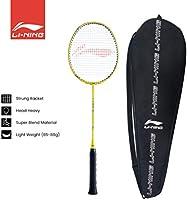 Li-Ning Unisex Adult G-Tek 38 GX Racket - Lime/Silver, One Size