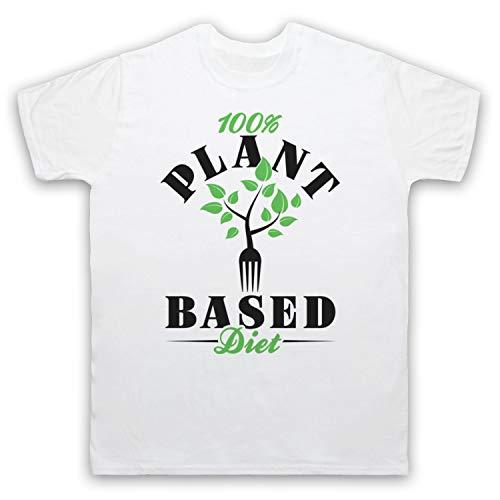 Mijn Icon Art & Kleding 100% Plant Gebaseerd Dieet Vegan Vegetarische Cultuur Heren T-Shirt