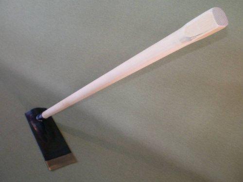 AD-172 平鍬 静岡型 文化鍬 鍛造鋼付 木柄 120cm