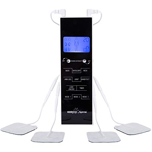 TENS Unit Muscle Stimulator, Easy@Home Electronic Pulse Massager,EMS TENS Machine,Pain Relief...