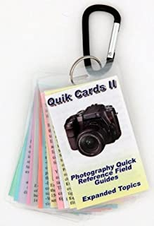 DSLR & SLR Cheatsheets 2. Pocket sized quick reference cards. Take breath taking photos every time you use your camera. Digital Camera Guide, Photography Manual, Tips for Digital or Film SLR cameras