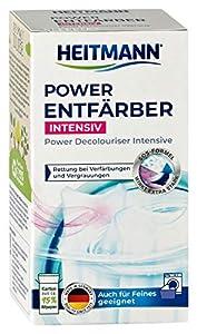 Heitmann Power - Detergente de color extra fuerte, 250 g