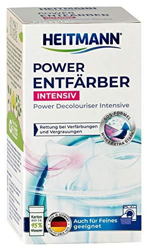 HEITMANN Power Entfärber Intensiv: Rettung bei Verfärbungen und Vergrauungen - Für alle Temperaturen (250 g)