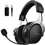Mpow Air 2.4G Auriculares Gaming para PS4, PC, Xbox One, Estéreo...