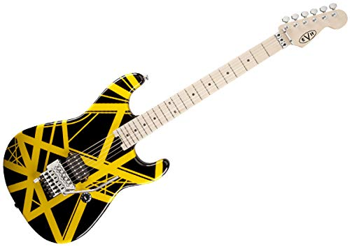 EVH Striped Series - Black with Yellow Stripes