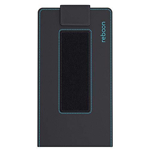 Hülle für Archos 50d Oxygen Plus Tasche Cover Hülle Bumper | Schwarz Leder | Testsieger