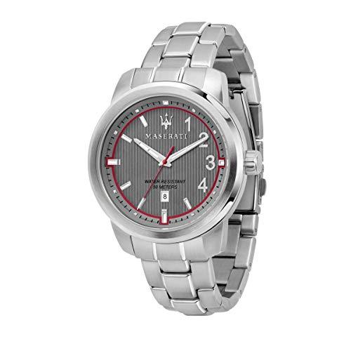 Reloj para Hombre, Colección Royale, Movimiento de Cuarzo, Solo Tiempo, con Fecha, en Acero - R8853137002