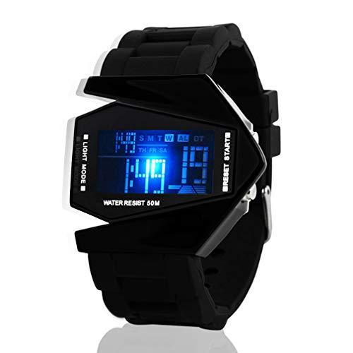 Fenkoo Herren Sportuhr / Armbanduhr digital LED / LCD / Kalender / Chronograph / Alarm Silikon BandSchwarz / Weiß / Blau / Rot / Braun / Grün /