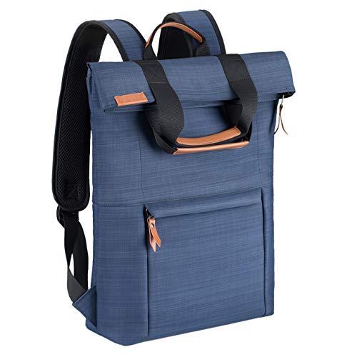 TARION Laptop Rucksack Wasserdichte Schulrucksack für 15,6 Zoll Laptop Notebook Rucksack für Herren und Damen