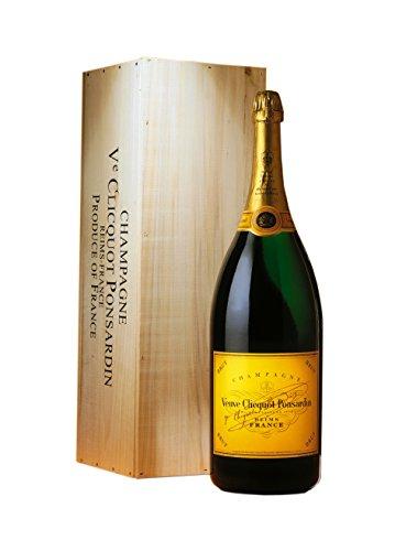 Veuve Clicquot Brut Yellow Label Mathusalem Champagne Brut con scatola in legno 3 lt.