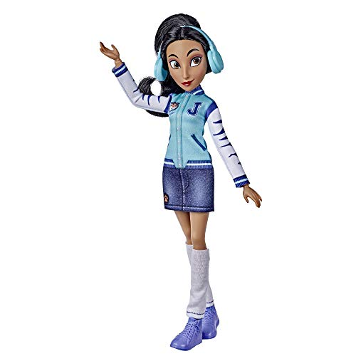 Disney Princess Comfy Squad Jasmine Fashion Doll, Toy Inspired by The Movie Ralph Breaks The Internet, Casual Outfit Doll, Girls 5 and Up