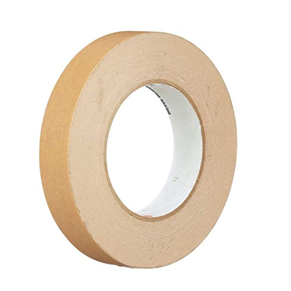 3M 98874-case General Use Flat Back Tape 2515, 24 mm x 55 m, Brown (Pack of 36)