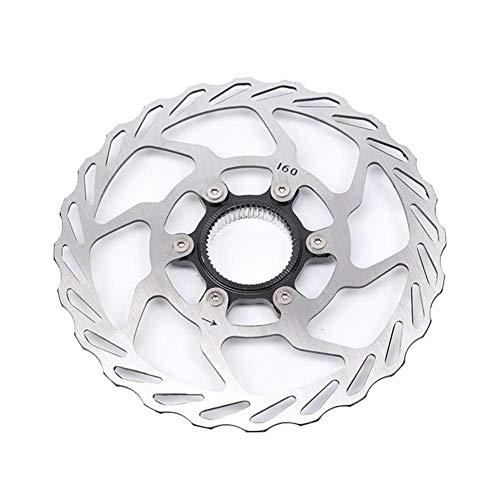 pologyase 160mm Centerlock Fahrrad Fahrradscheibe Bremsscheibe für Rennrad Mountainbike MTB