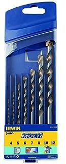Irwin 10501940 Joran Cordless Drill Set Multi Material Masonry/Wood/Tile, 4mm-12mm, 7 Pieces (B000QWA0FW) | Amazon price tracker / tracking, Amazon price history charts, Amazon price watches, Amazon price drop alerts