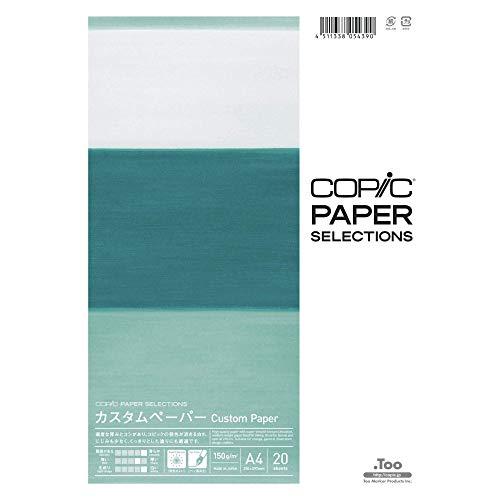 Copic 26075300 Custom Paper A4 150g 20Bl