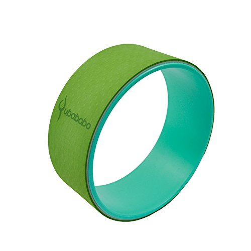 QUBABOBO rueda de yoga ABS + Camo Dharma Yoga estiramiento / soporte apoyo círculo,...
