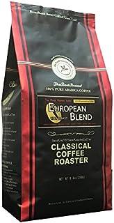 コーヒー豆 クラシカルコーヒーロースター 100% アラビカ 豆 ヨーロピアン ブレンド 250g (8.8oz) 豆のまま