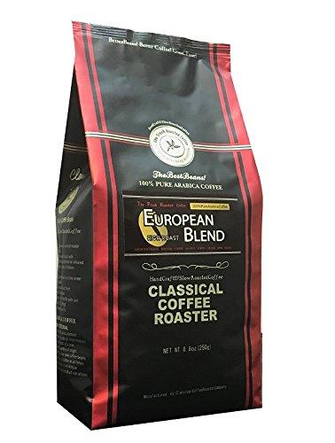 コーヒー豆 クラシカルコーヒーロースター 100% アラビカ 豆 ヨーロピアン ブレンド 250g ( 8.8oz ) 中挽