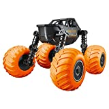 Coche teledirigido juguete 4 WD 2,4 G deformación coche carreras 360 grados rotación & flips escalada coche niños