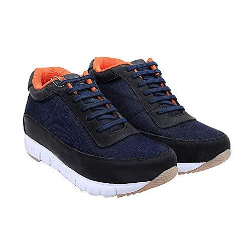 Revox Men's Navy Blue Sports Shoes - 6 UK