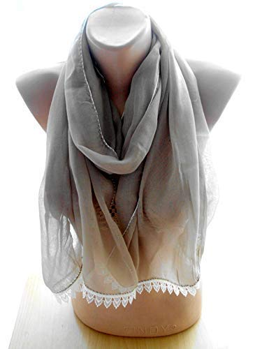 Light brown Crinkle Scarf Long Women Tampa Mall Accessories Chr Shawl OFFicial shop