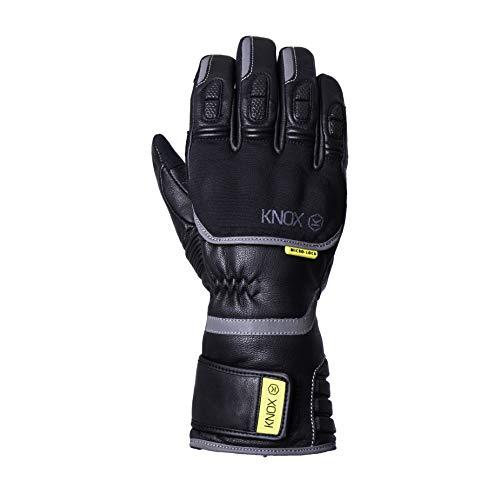 Knox Zero 3 MK II – Winter Motorrad Handschuhe Leder, wasserdicht