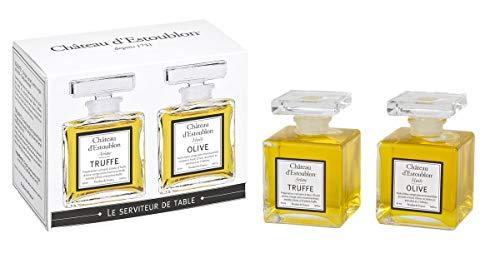 Château d'Estoublon Geschenkbox Olivenöl-Duo mit 2 Mini Flacons 2 x 50 ml